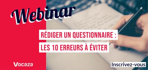 Rédiger un questionnaire : les 10 erreurs à éviter